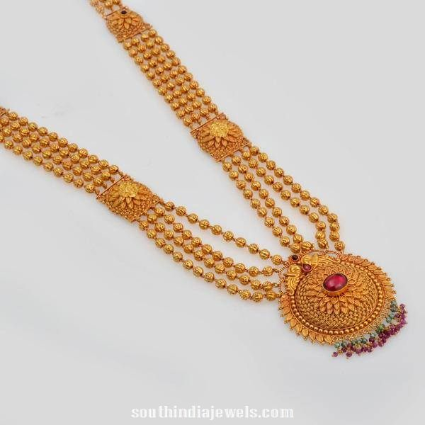 multilayer gold ball haram latest design