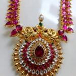 Ruby Rose Cut Diamond Haram