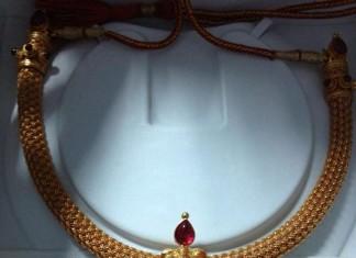 Temple Jewellery necklace