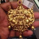 22 Carat Gold Antique Lakshmi Pendant