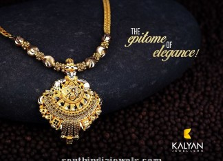 gold necklace designs from Kalyan Jewellers