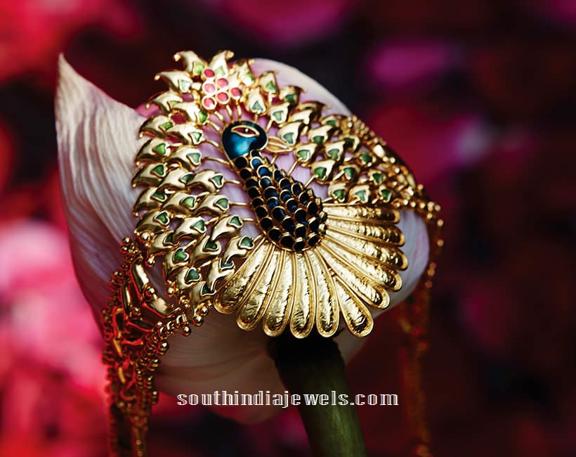 22k gold bracelet designs from Tanishq