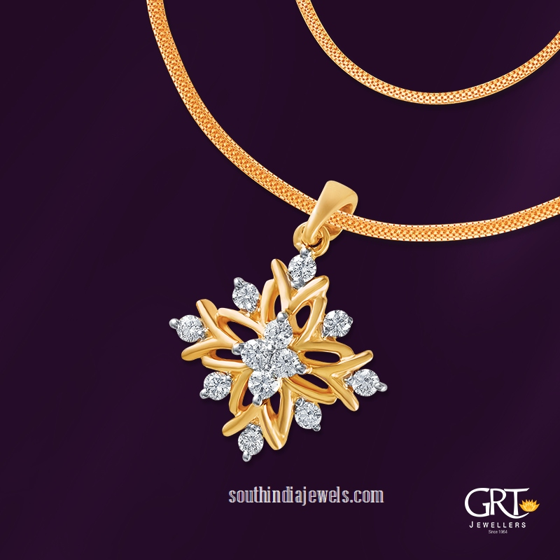 22 Carat Gold Chain Model From GRT Jewellers ~ South India Jewels