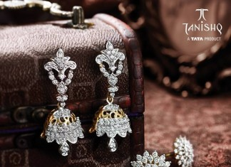 Diamond Jhumka and Earrings designs from Tanishq