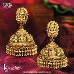 Antique Temple Jhumka from GRT
