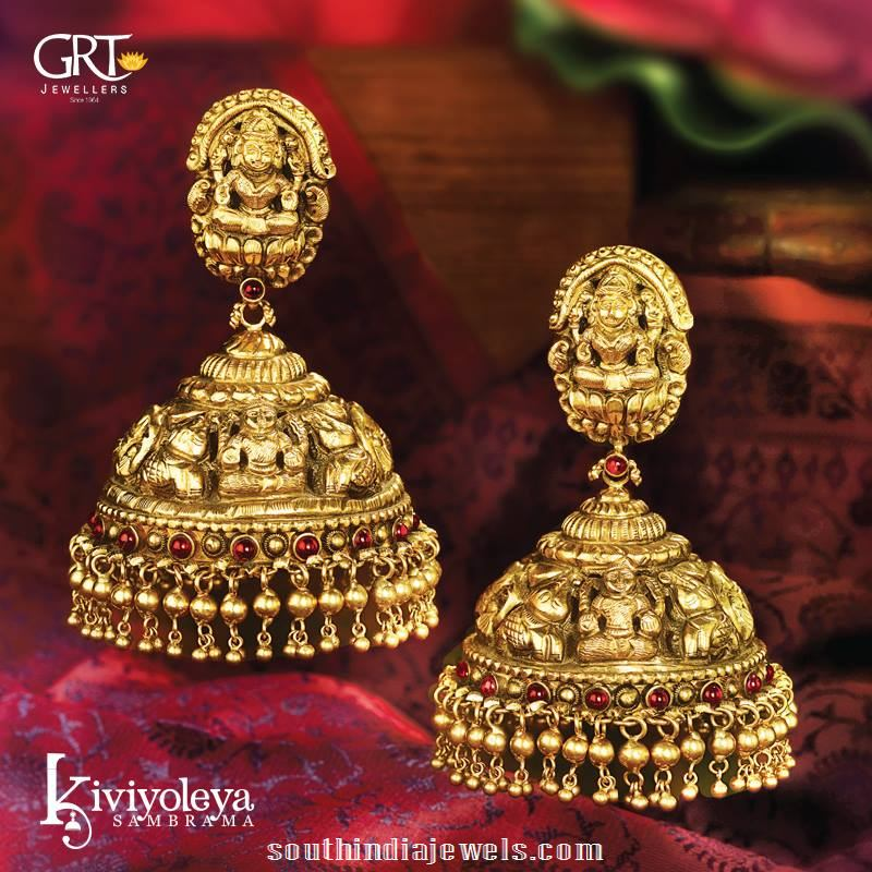 New Gold Jewelry Jhumka Design | Jewellry\'s Website
