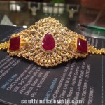 Gold Ruby Arm Band Design