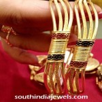 22 Carat Gold Designer Bangle
