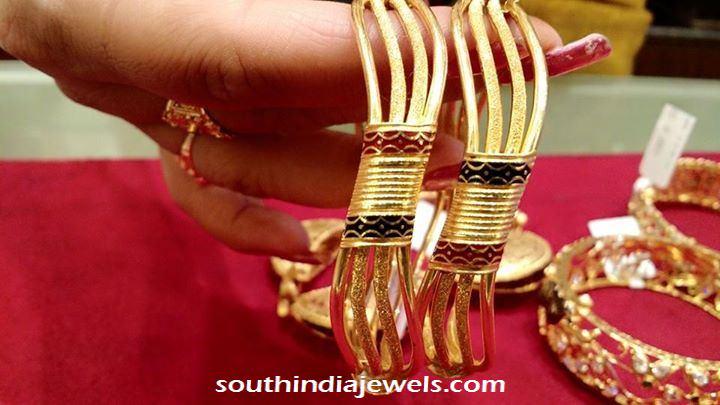 22 Carat gold designer bangles