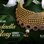 Gold Ruby Choker Necklace From Kalyan Jewellers