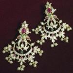 Imitation CZ Stone Earrings