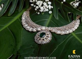 Kalyan Jewellers Diamond Necklace Designs