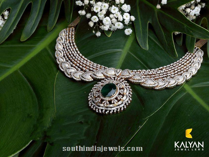 Kalyan Jewellers Diamond Necklace Designs