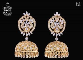 Diamond Jhumkas form C Krishniah chety sons