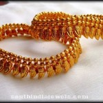 Gold Plated Anklet Design