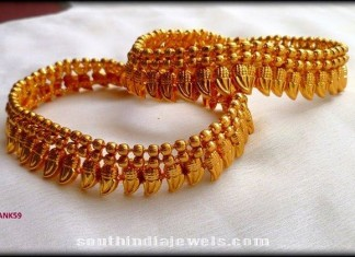 Latest gold plated anklet model 2015