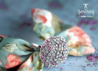 Stylish Diamond Ring from Tanishq