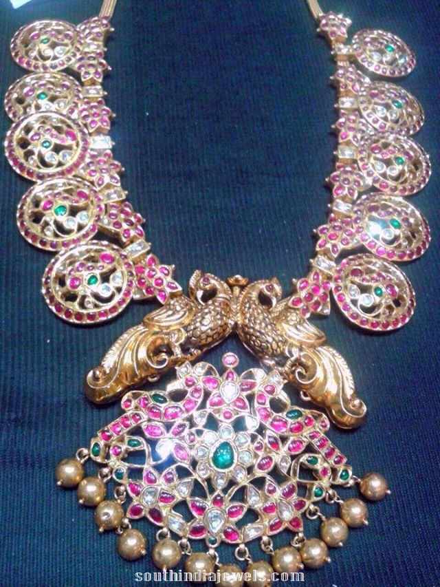 Traditional Ruby Temple Necklace From NAJ