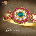 Antique Ruby Bangle From Prince Jewellery