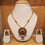 Gold Meenakari Work Necklace