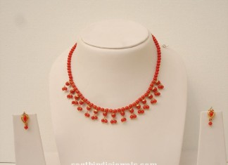Imitation Coral Necklace latest design