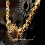 Gold Long Necklace From Tanishq