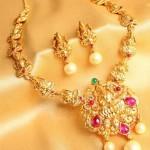 One Gram Gold Lakshmi Necklace