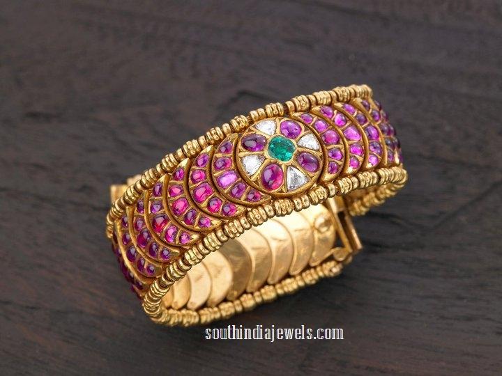 Classic ruby bangle from Arnav Jewellers