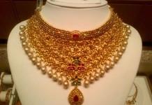 uncut bridal diamond choker necklace from NAJ