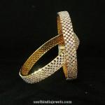 1 Gram Gold Stone Bangles
