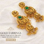 Gold Antique Earrings from Josalukkas