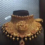 Antique Lakshmi Choker Necklace