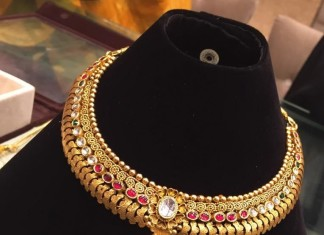 Antique Ruby Choker Necklace
