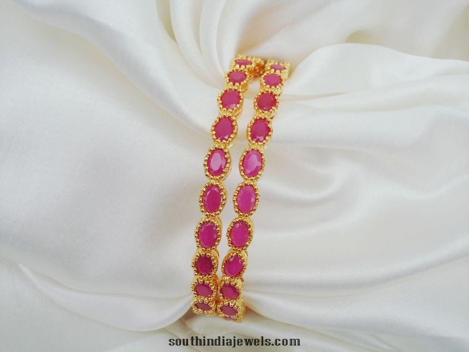 Artificial Imitation Ruby Bangles