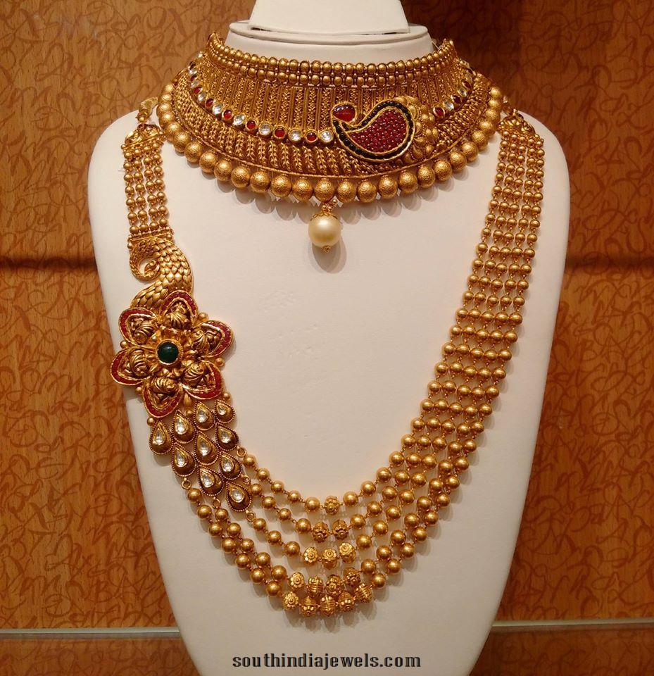 wedding gold jewellery sets