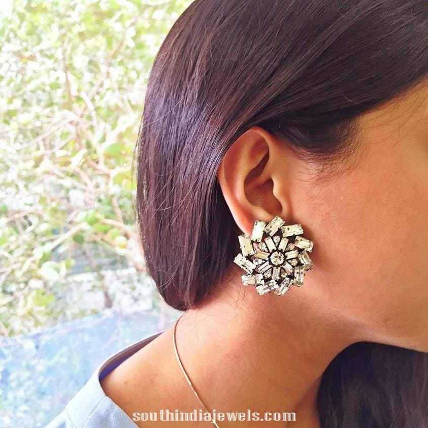 Designer Stone Earrings from prerto