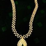 Diamond Short Necklace Design