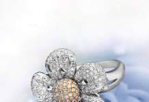 Diamond Floral Wedding Ring from GRT jewellers