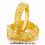 22k Gold Designer Bangle From Joyalukkas