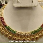 Gold Clustered Beads Necklace