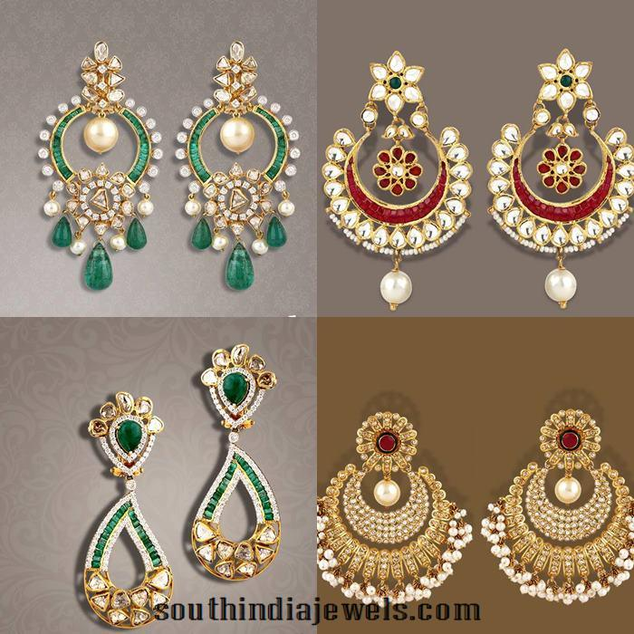 Latest model gold earrings from TBZ