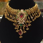 Gold Kundan Choker Necklace from PSJ