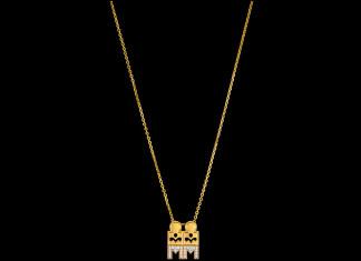 Gold Mangalsutra design fom Kalyan Jewellers