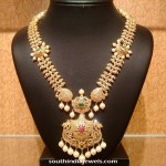 22K Gold Stone Long Necklace From NAJ