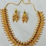 Artificial Mango Mala Stone Necklace