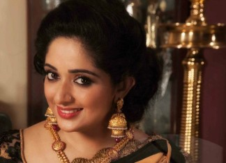 Kavya Madhavan Jewellery Layered Jhumka and rub Necklace