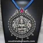 Silver Lakshmi Pendant
