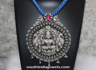 Silver Jewellery Lakshmi pendant from Shine Silver Jewellery