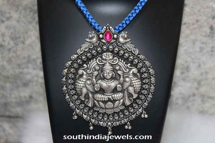 Silver Jewellery Lakshmi pendant from Shine Silver Jewellery