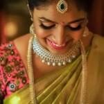 South Indian Bride in Diamond Jewelleries
